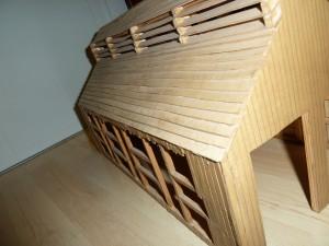 Lokschuppen Dach